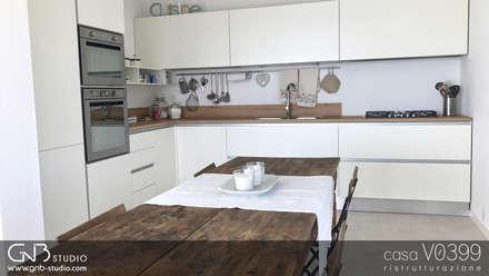 casa V0399: Cucina in stile in stile Moderno di G'n'B studio