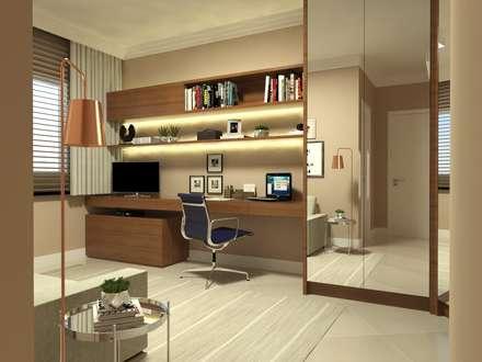 moderne Arbeitszimmer von Arching - Arquitetos Associados
