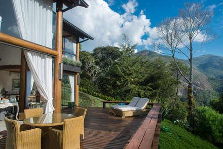 Terrace by Giselle Wanderley arquitetura