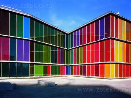 Разноцветное стекло : Офисы и магазины в . Автор – Zстекло