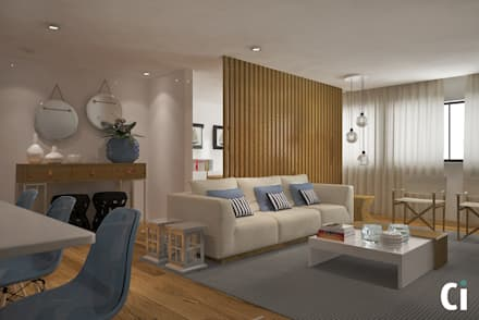 Sala de estar: Salas de estar modernas por Ci interior decor