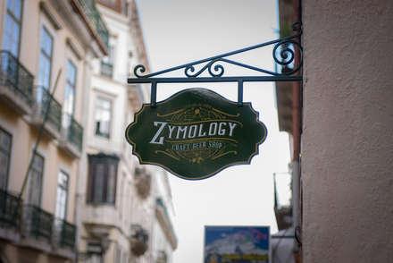 Zymology Craft Beer Shop: Bares e clubes  por Think Bold Studio