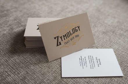 Zymology (Lisboa): Bares e clubes  por Think Bold Studio