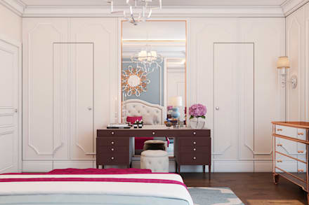 France Kvartal: eclectic Bedroom by Space Options