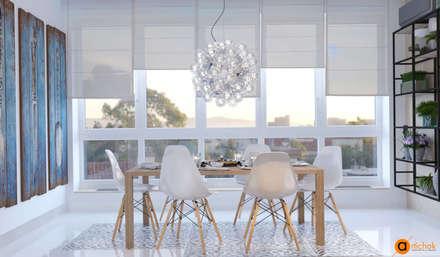 Невесомый дизайн интерьера кухни: Кухонные блоки в . Автор – Art-i-Chok