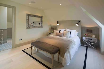 Hampstead, London - Residential: classic Bedroom by Peach Studio