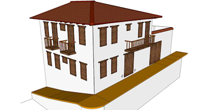 Casa Barichara: Casas de estilo colonial por Heritage Design Group