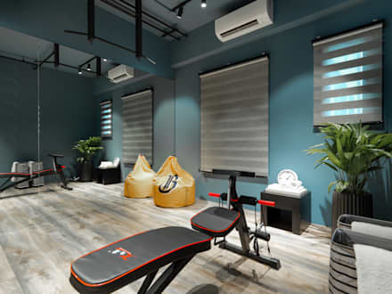 صالة الرياضة تنفيذ 存果空間設計有限公司