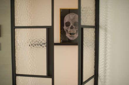 신축아파트에 스타일을 더하다_왕십리 텐즈힐 홈스타일링: (주)바오미다의  문