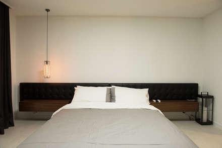 신축아파트에 스타일을 더하다_왕십리 텐즈힐 홈스타일링: (주)바오미다의  침실