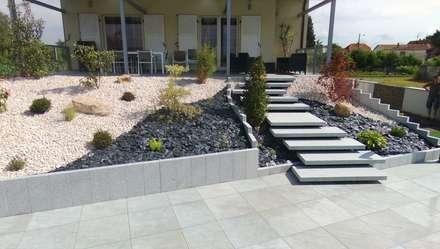 Jardines zen de estilo  por Schwein Aménagement