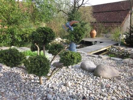 Bepflanzungen und Rasenanlagen: asiatischer Garten von Garten-Landschaftsbau Hierreth-Felser GmbH