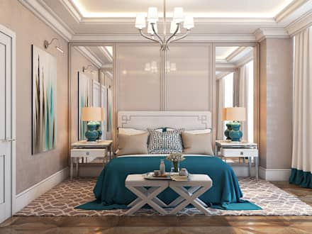 BF apartment: classic Bedroom by Space Options