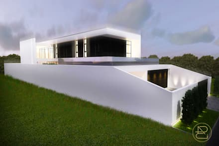 Sun House:  Rumah by Arci Design Studio