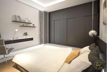 Sun House:  Kamar Tidur by Arci Design Studio