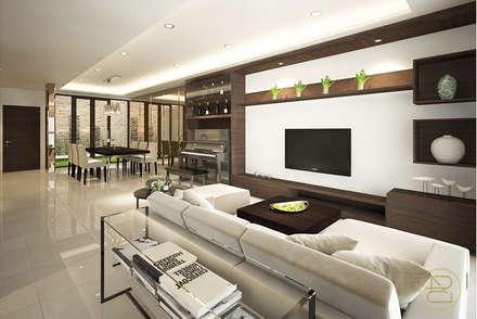 SL House:  Ruang Keluarga by Arci Design Studio