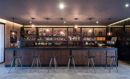 modern Wine cellar by Sobrado + Ugalde Arquitectos
