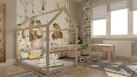 Dom na żoliborzu: styl , w kategorii Pokój dziecięcy zaprojektowany przez deco chata