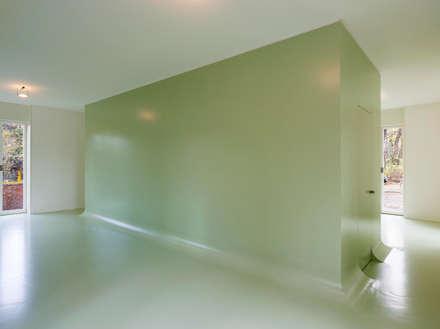 Abstract architecture: ausgefallene Schlafzimmer von smo architektur