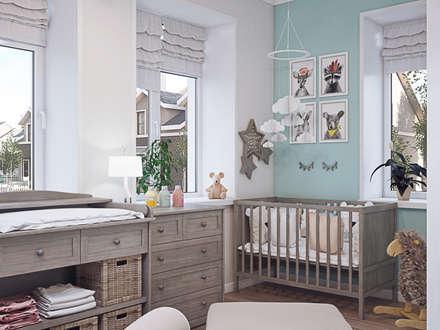 غرفة الاطفال تنفيذ Loft&Home