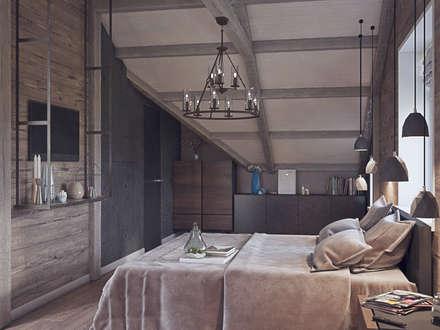Таунхаус в КП Кембридж, 225 кв.м.: Спальни в . Автор – Loft&Home