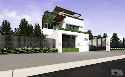 Villas by AE STUDIO DESIGN
