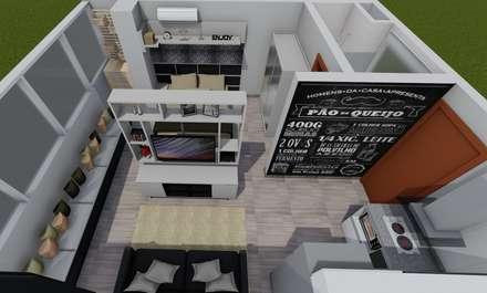 Single family home by Lumitê Arquitetura e Design