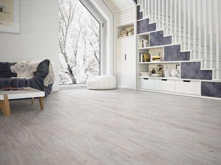 Wohnzimmer einrichtung design inspiration und bilder homify - Holzfliesen wohnzimmer ...