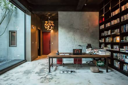 مكتب عمل أو دراسة تنفيذ 業傑室內設計