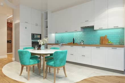 ห้องครัว by Гузалия Шамсутдинова | KUB STUDIO