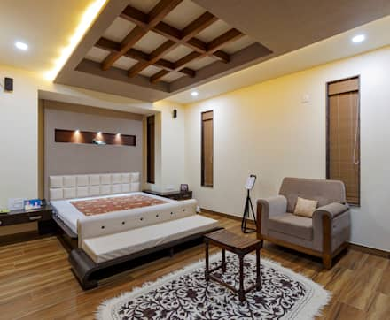 masters bed room tropical bedroom by spacecraftt architects - Ideas For Interior Decoration