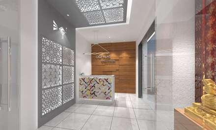 Reception: modern Study/office by Ravi Prakash Architect