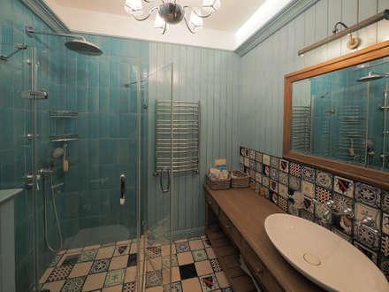 Baños de estilo rural por ООО' А2про'