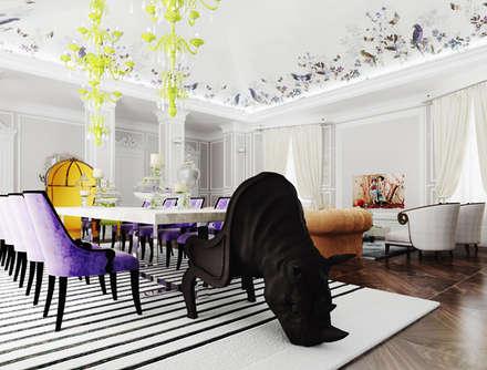 ДЛЯ НЕЁ: Дома на одну семью в . Автор – Архитектурное бюро Materia174