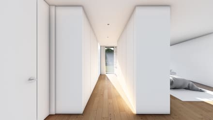 modern Dressing room by Helena Faria Arquitectura e Design