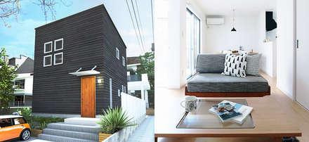 Single family home by オレンジハウス