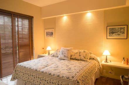 Giselle Wanderley arquiteturaが手掛けた寝室