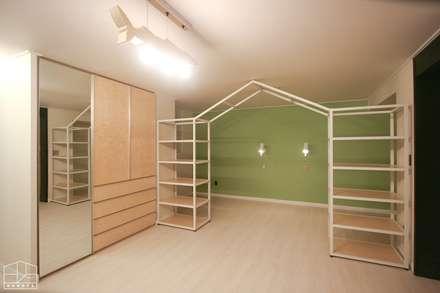 40평대 아파트 인테리어 모아보기: 홍예디자인의  아이방