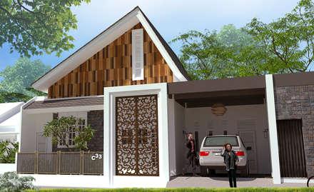 منزل عائلي صغير تنفيذ Griya Cipta Studio