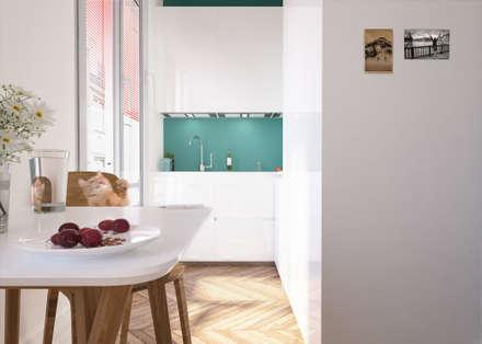Nhà bếp by laib architecture