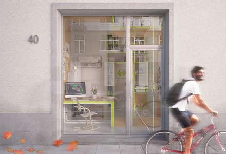 TRN-MPN: Negozi & Locali commerciali in stile  di laib architecture