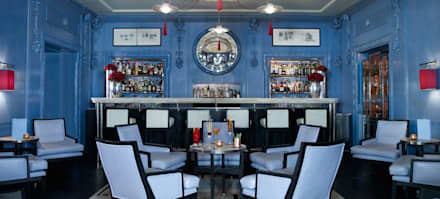 The Blue Bar at The Berkley:  Bars & clubs by Paint The Town Green