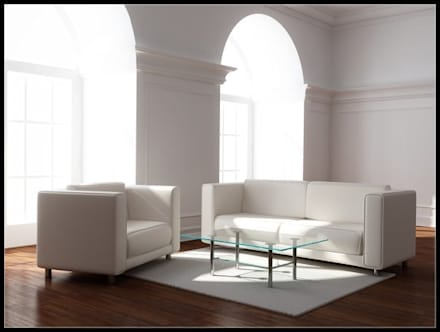 Tarifs: Salon de style de style Minimaliste par Agence Inside DECO