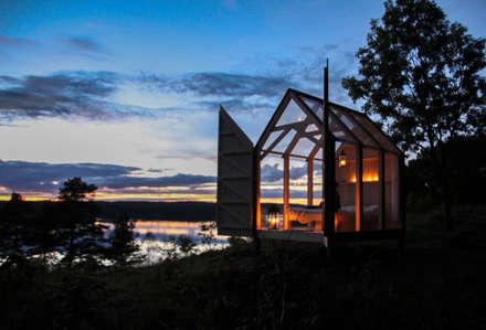 Mit der Natur Verbunden: skandinavischer Garten von Paul Marie Creation