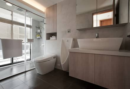 scandinavian Bathroom by 北歐制作室內設計
