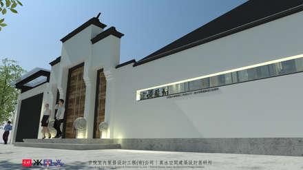 حديقة Zen تنفيذ 京悅室內裝修設計工程(有)公司|真水空間建築設計居研所