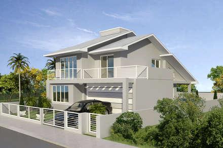 Single family home by Cadu Martins Arquiteto e Urbanista