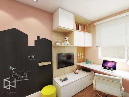 Girls Bedroom by Studio Monfre Arquitetura