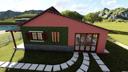 Igor Cunha Arquitetura 의  전원 주택