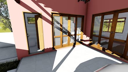 أبواب زجاجية تنفيذ Igor Cunha Arquitetura